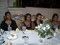 Wife of the Honorable Felix Augustin, Consul General of Haiti in NY; lovely nieces of Reverend Yves-Miguel Auguste, Pastoral Vicar of St Jerome Church and assistant to Bishop Sansaricq; Yolaine Milfort of the Haitian consulate