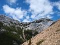 Peaks north of Exshaw Ridge