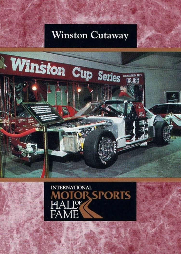 1992 Maxx International Motorsports Hall of Fame #34 (1)