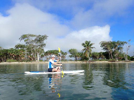 sit down paddling