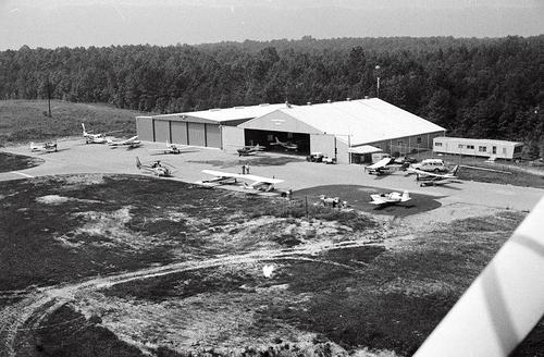 SCOTT COUNTY AIRPORT IN 1975
