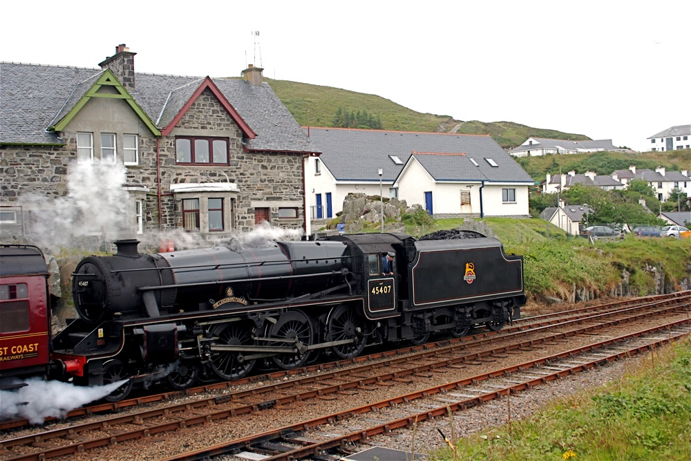 The Hogwart's Express, Mallaig, Scotland