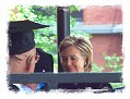 Hillary Clinton receives her degree