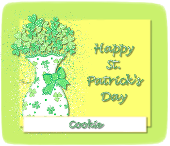 Cookie-StPatrickDay CloverBouquet-gailz