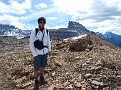 Me with Dolomite Peak in the background