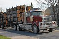 Large logs and I bet a happy trucker knowing someone took his photo! LOL!