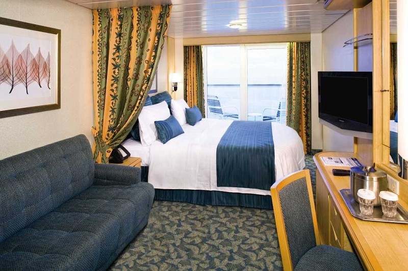 Photo Superior Ocean View Stateroom With Balcony Cat E1