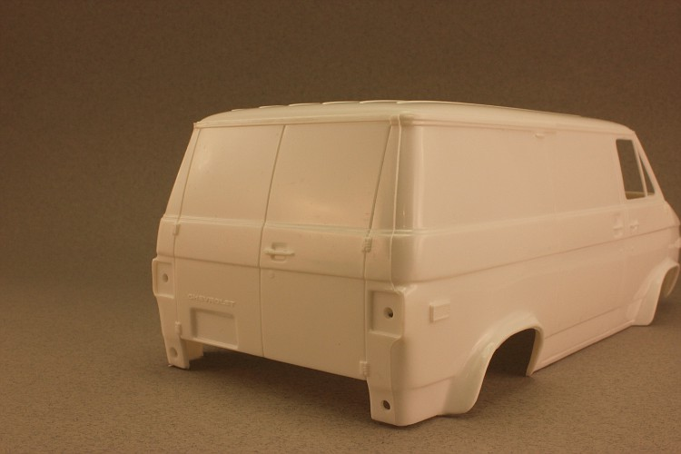 Revell Van project for SA 1 010