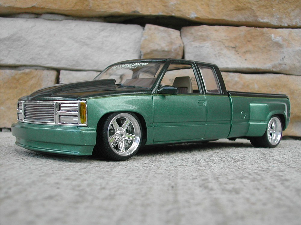 chevy dually custom pickup car truck scale models pinterest chevy. Black Bedroom Furniture Sets. Home Design Ideas
