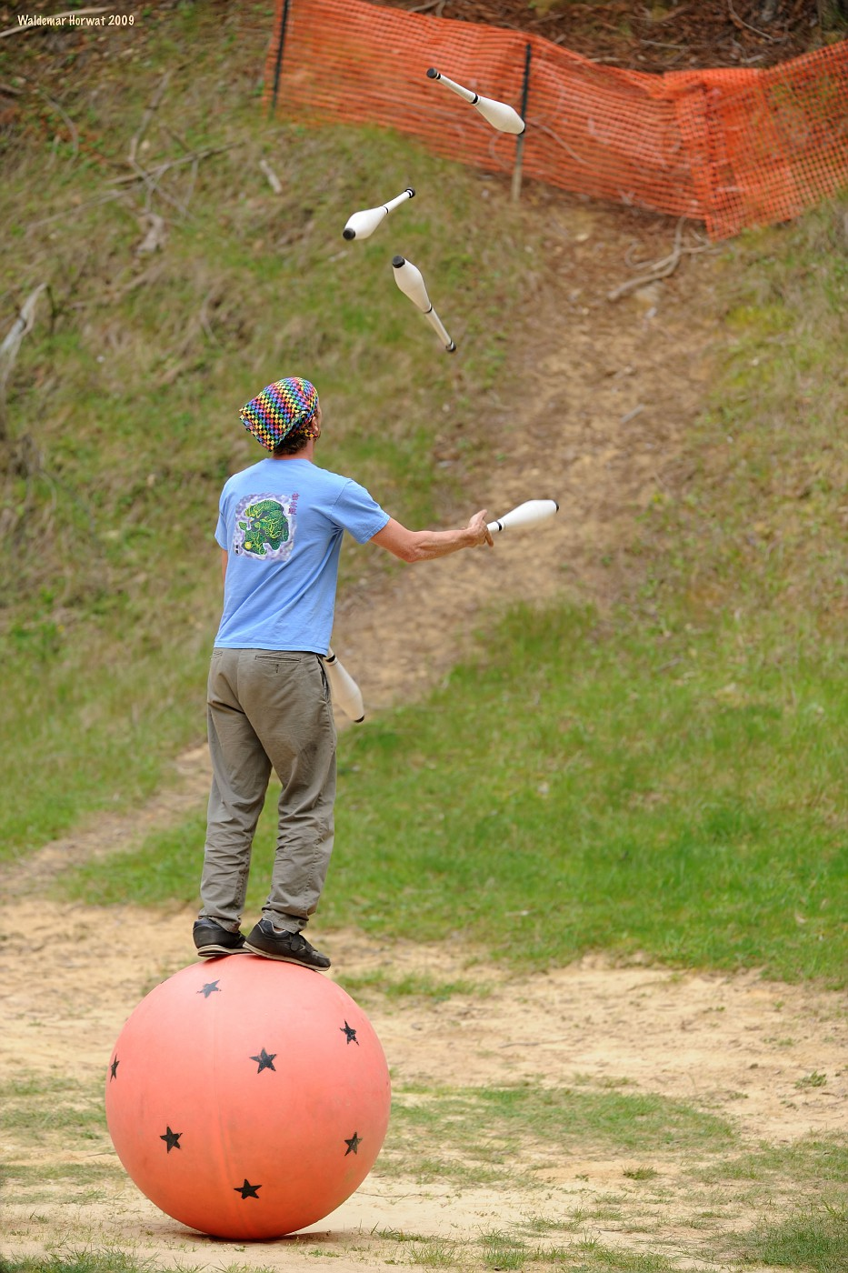 Juggling on the Ball