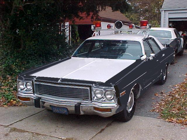 Misc - Dodge Polara being restored as TX DPS unit from the movie Sugarland Express