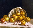Still Life with Yellow Apples [1858]