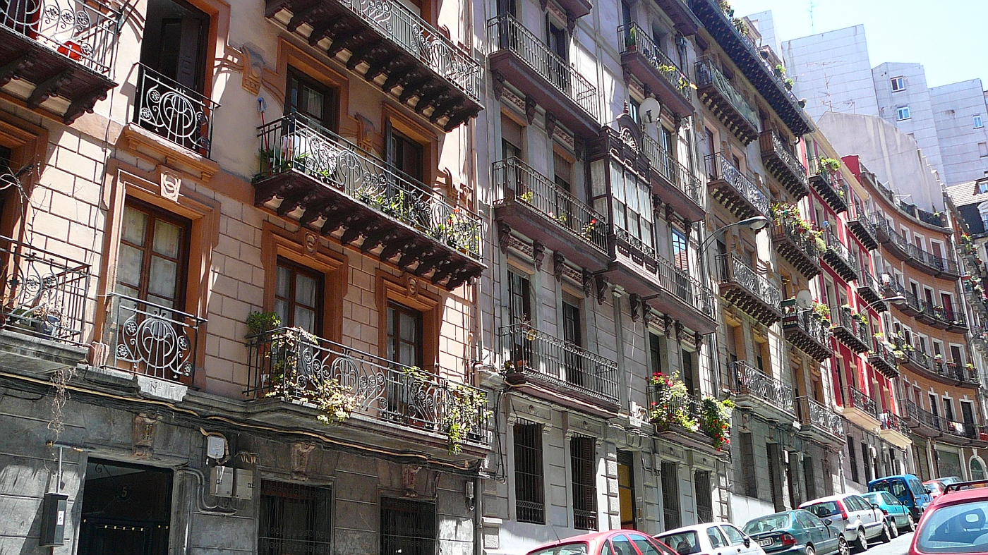 Old Flats in Bilbao