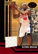 2007-08 Bowman Elevation Relics Red Elton Brand (1)