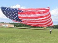 PHOTO BY RALPH REED -- David as the kite goes up