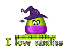 I love candies - CandyCornWitch