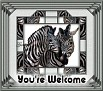 You're Welcome-gailz0207-bsc~animals~zebras-MC.jpg