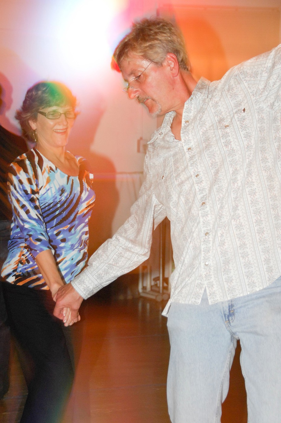 Al & Cindy dance West Coast Swing in Norwalk, CT on April 19, 2012