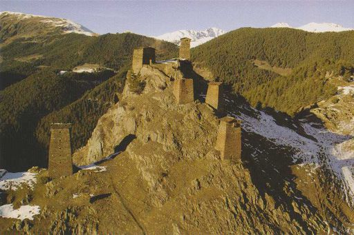 Georgia - TUSHETI TOWERS
