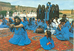 Morocco - Guedras Dance ND