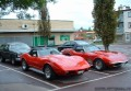 Two Corvettes
