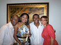 Rony Gachelin, Guilene Chevallier, Richard Colimon, Nathalie Colimon.