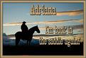 Adriana-gailz-Back in the Saddle Again