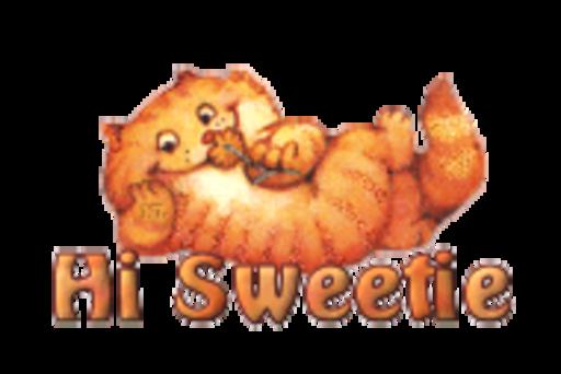 Hi Sweetie - SpringKitty