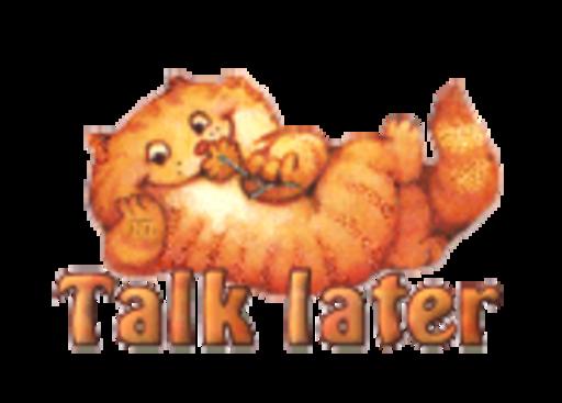 Talk later - SpringKitty