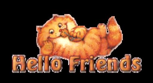 Hello Friends - SpringKitty