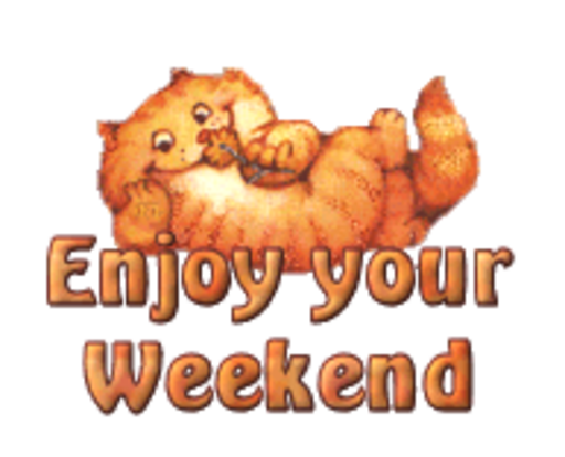 Enjoy your Weekend - SpringKitty