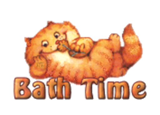 Bath Time - SpringKitty