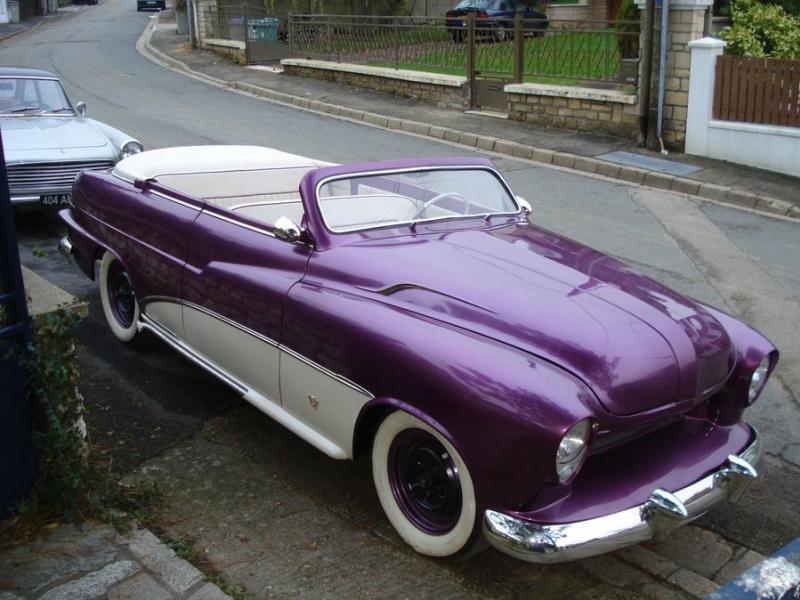 photo custom 1953 vedette 116 olivier 1953 ford vedette album rik hoving custom car photo. Black Bedroom Furniture Sets. Home Design Ideas