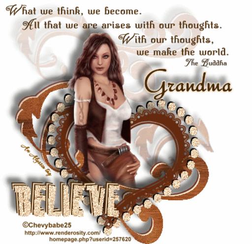Grandma Believe Chevyb Alyssia