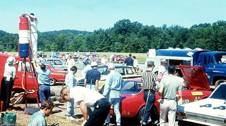 Tony Adamovicz & BobTullius '66 Virginia International Raceway
