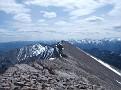 Looking back at south summit