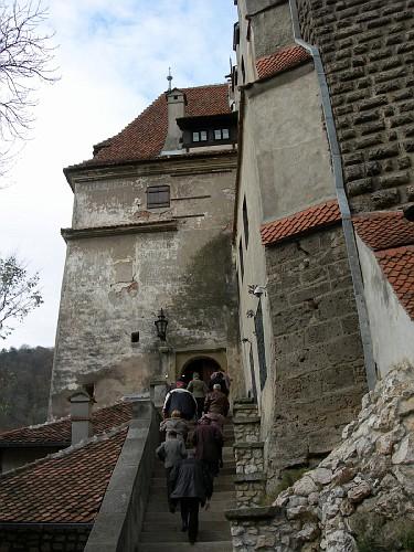 Entrance to Bran Castle