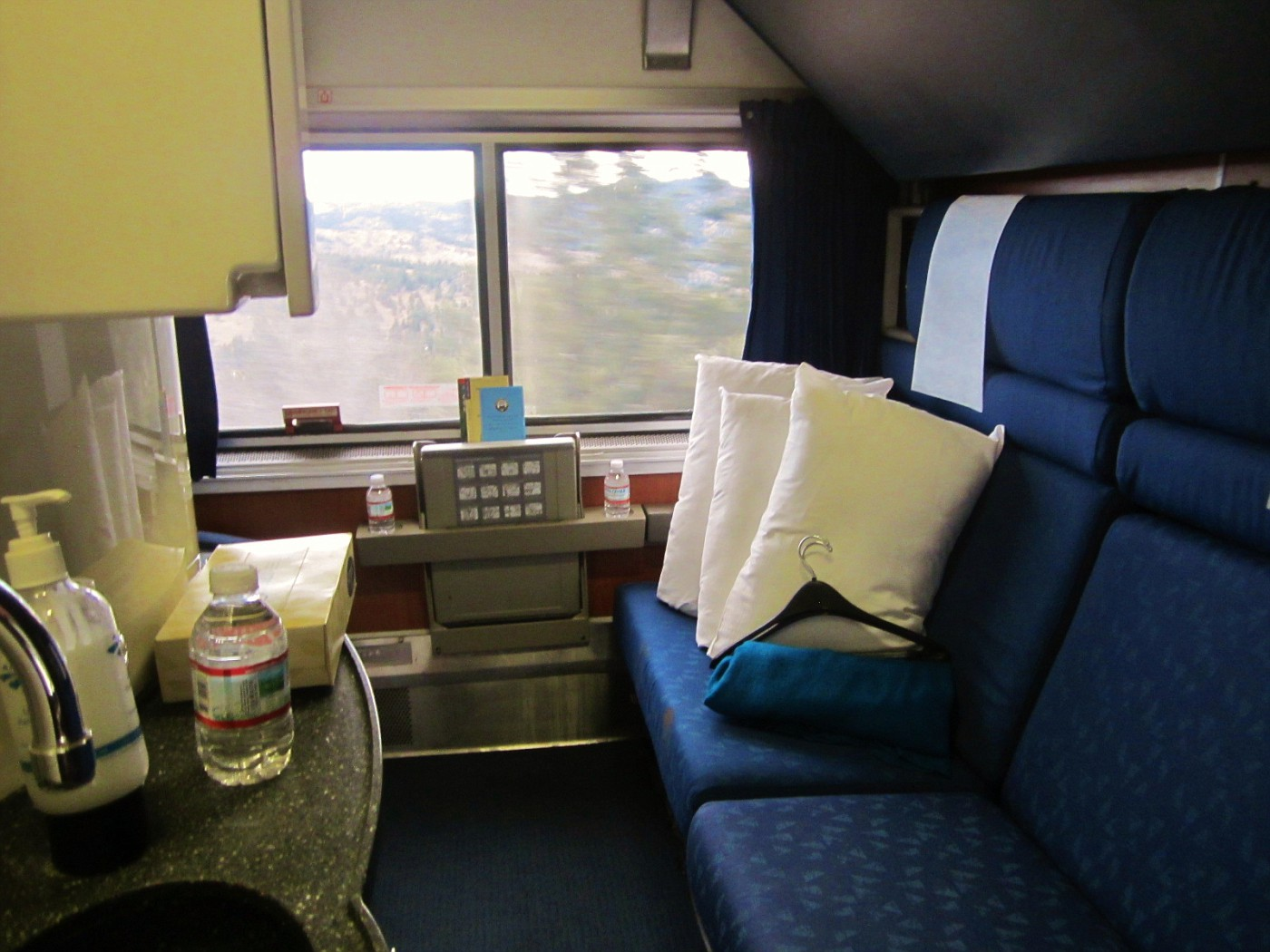 First Class On Amtrak's Coast Starlight