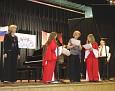 Receiving festival awards