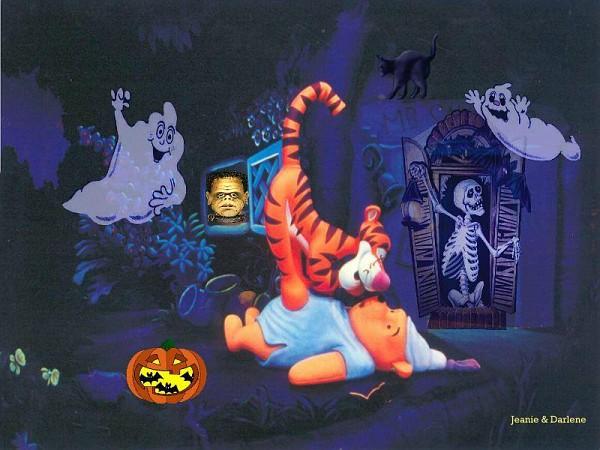 Photo: Poohs Halloween | Winnie The Pooh wallpaper album ...