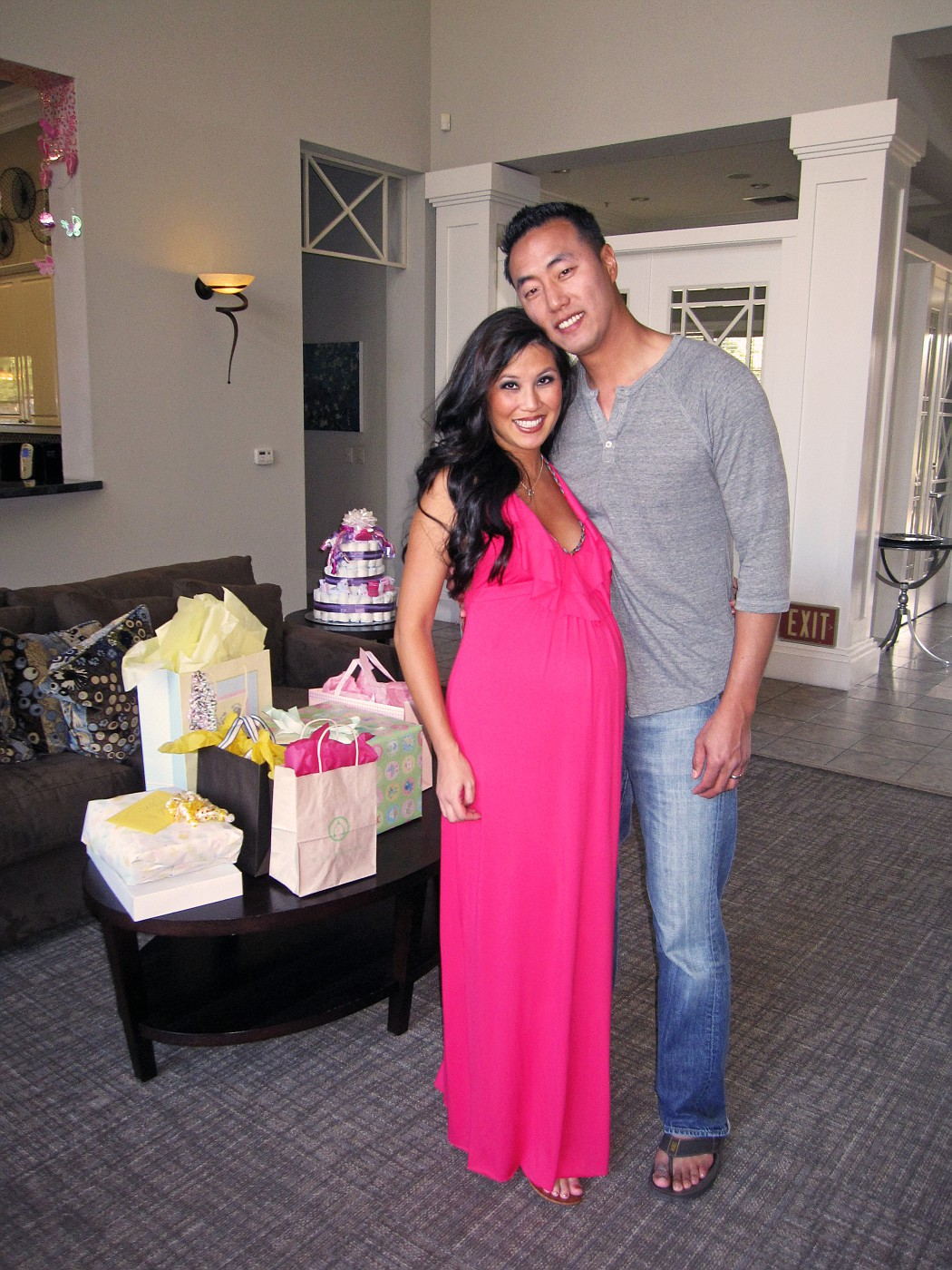 Our baby shower photo 1