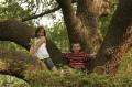 Julianne & Hayden in Tree