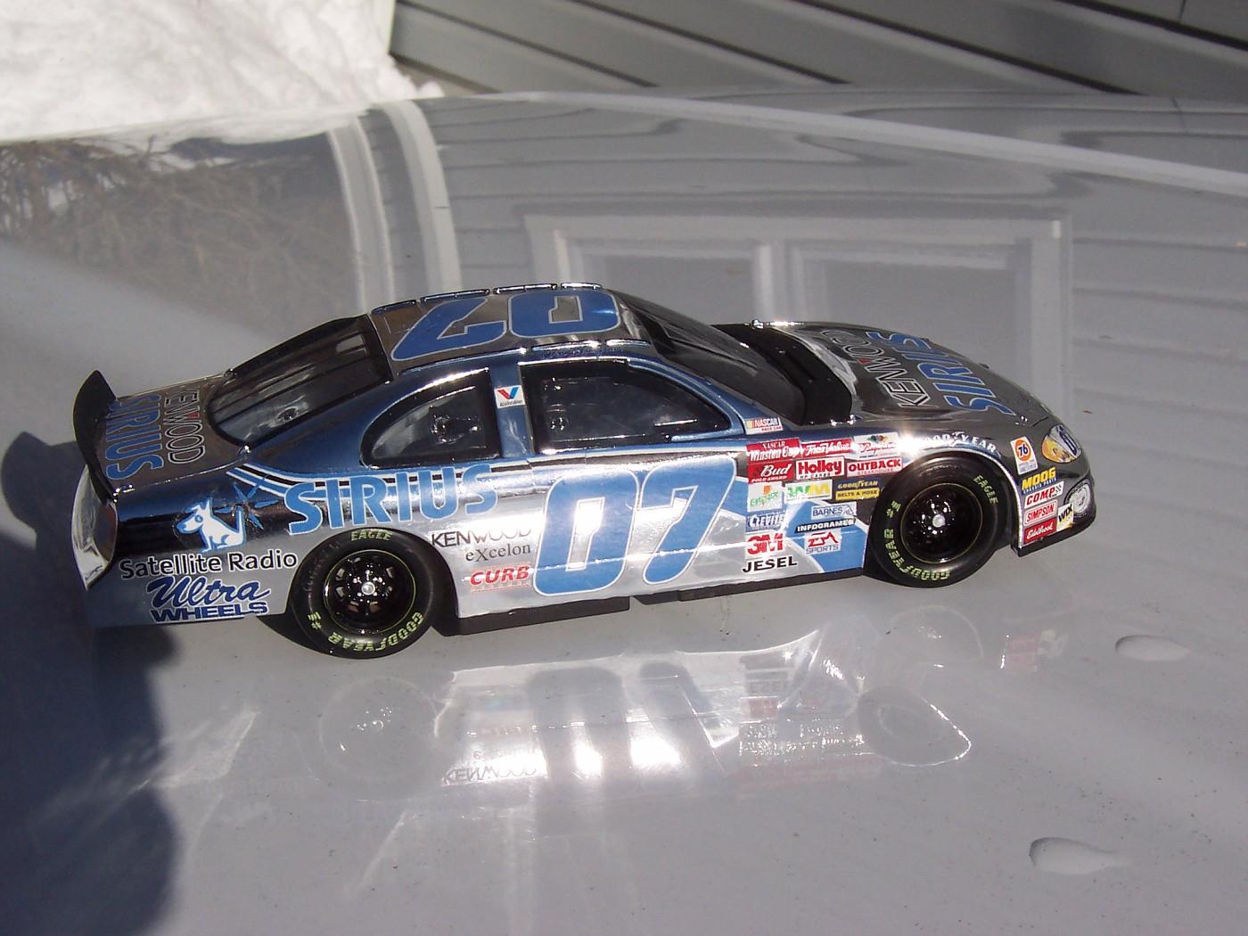 2002 Ted Musgrave Kenwood/Sirius Chrome Dodge Intrepid 7