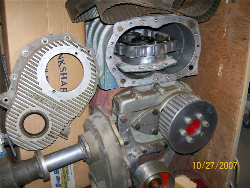 Blower dirves,covers etc