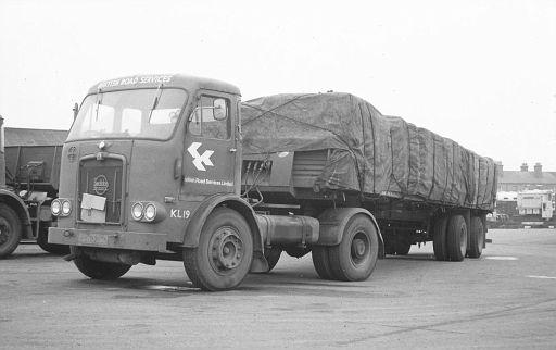 PCH326D   Seddon   no. KL19 of Stafford depot