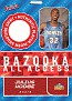 2005-06 Bazooka All-Access Julius Hodge (1)