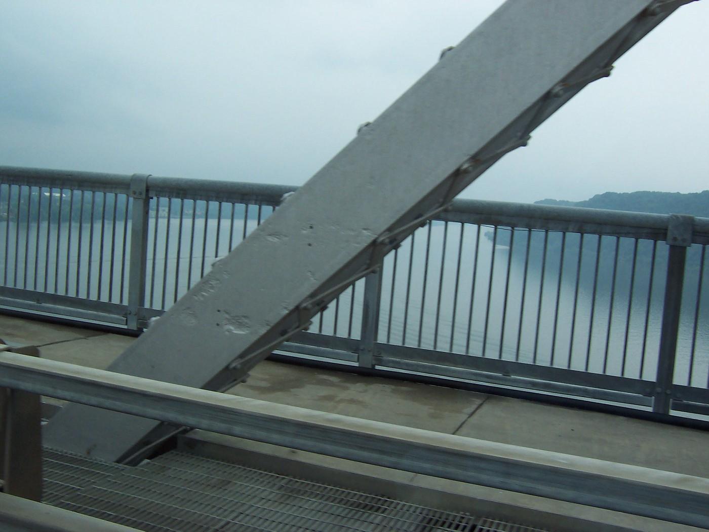 Looking off the Mid-Hudson Bridge
