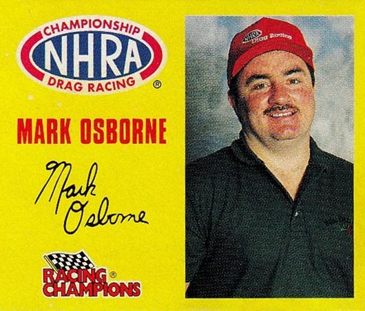 1997 Racing Champions 1-144th Mark Osborne (1)