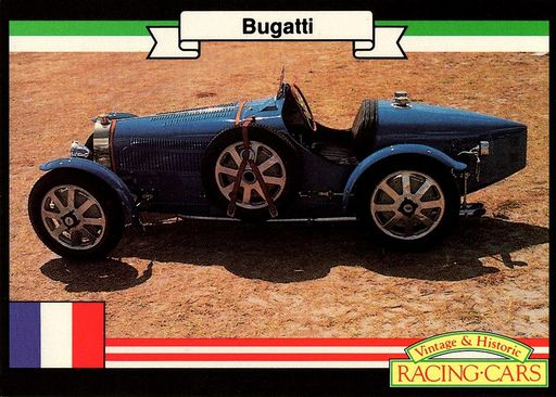 1991 Vintage & Historic Racing Cars #V1-5 (1)