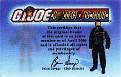 2006 GI Joe Collector's Club Card